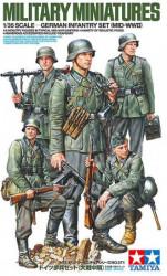 TAMIYA German Infantry Set...