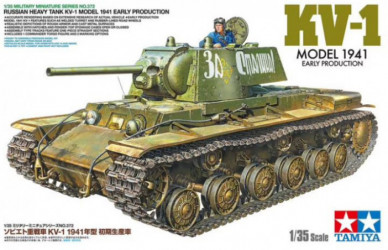 TAMIYA KV-1 1941 Early