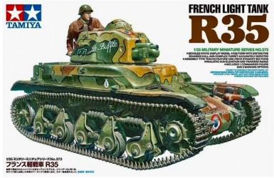 TAMIYA French Light Tank R35