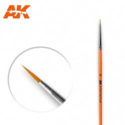 AK 3/0 Round Brush Syntetic