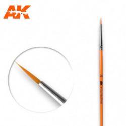 AK 2/0 Round Brush Syntetic