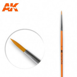 AK 1 Round Brush Syntetic