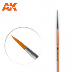 AK 2 Round Brush Syntetic