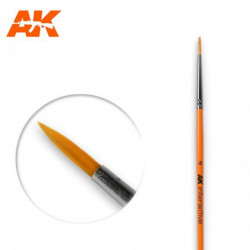 AK 4 Round Brush Syntetic