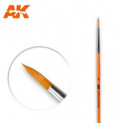 AK 6 Round Brush Syntetic
