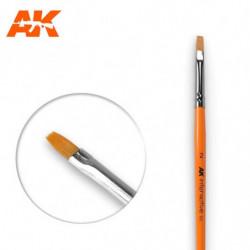 AK 2 Flat Brush Syntetic