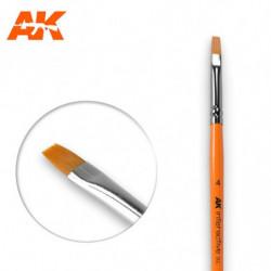 AK 4 Flat Brush Syntetic
