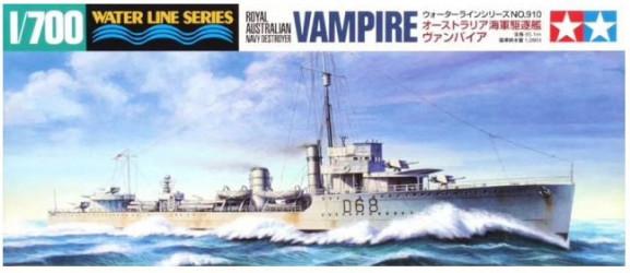 TAMIYA Destroyer Vampire