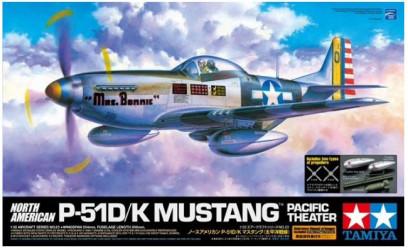 TAMIYA P-51D/K Mustang Pacific