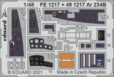 EDUARD ZOOM SET Ar 234B