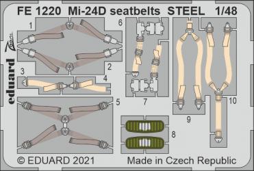 EDUARD ZOOM SET Mi-24D...