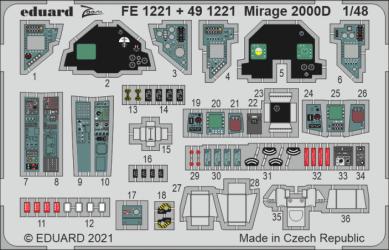 EDUARD ZOOM SET Mirage 2000D
