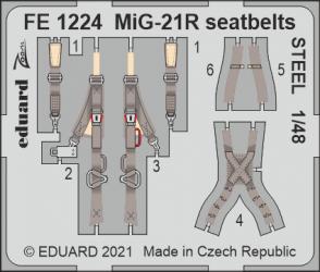 EDUARD ZOOM SET MiG-21R...