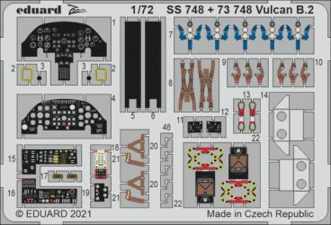 EDUARD ZOOM SET Vulcan B.2
