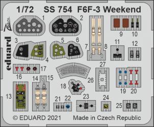 EDUARD ZOOM SET F6F-3 Weekend