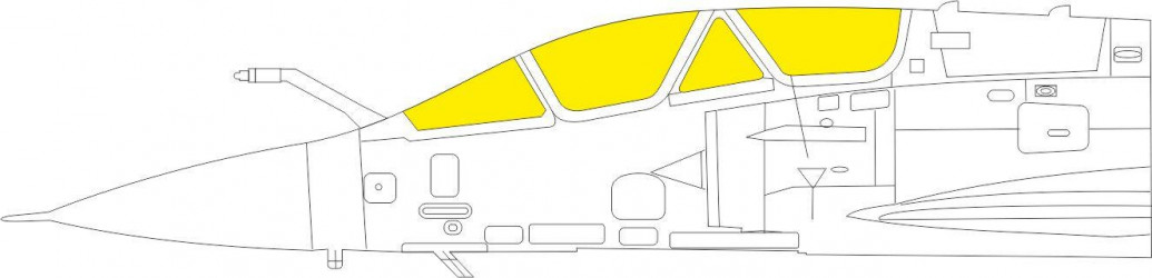 EDUARD MASK Mirage 2000D TFace