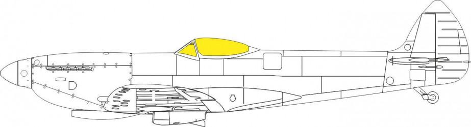 EDUARD MASK Spitfire Mk.XVI...