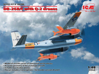ICM DB-26B/C with Q-2 drones