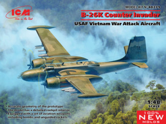 ICM B-26K Counter Invader