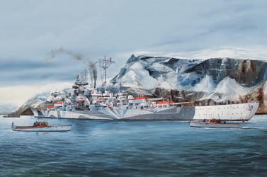 TRUMPETER Tirpitz Battleship