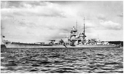 TRUMPETER Gneisenau Battleship