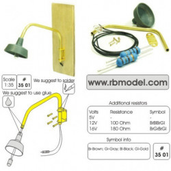 RB MODEL Building Mounted Lamp